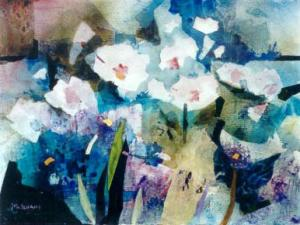 Frances H. McIlvain - Watercolor and Collage (In Memoriam)