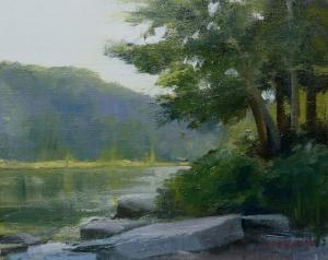 024 anthony migliaccio painting downstream
