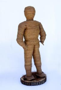 012 linda colaguori sculpture born of the forest floor