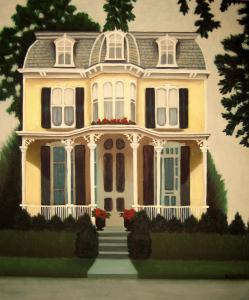019 susan currie painting victorian house