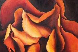 031 lisa foley painting smouldering