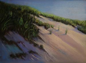 041 lee jaimeson painting dune in morning