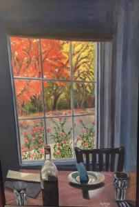060 ratna mathur painting dining inside out in the fall