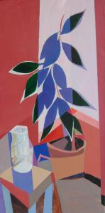 088 donald robinson painting corner window