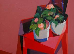 089 donald robinson painting potting bench