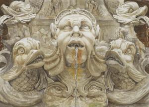091 michael scherfen painting fontana del pantheon