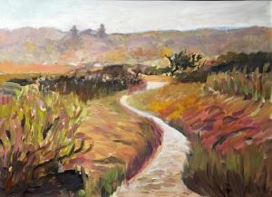012_helene_condouris_painting_autumn-at-sandy-hook