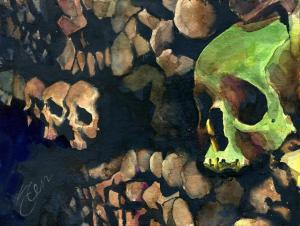 020_stephen_gale_painting_catacombs