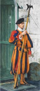 083_michael_scherfen_painting_swiss-guard