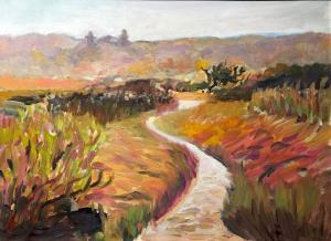 004_painting_autumn at sandy hook
