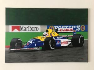 026_painting_formula 1 nigel mansell!