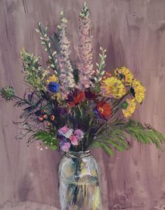039_painting_leftover bouquet