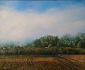 046_painting_morning mist sonoma