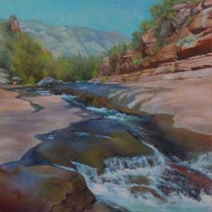 068_painting_slide rock splash