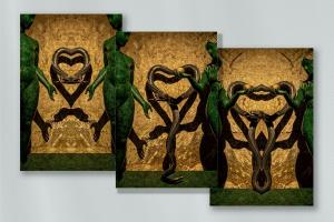 160_photography_sinfully dali triptych on metal