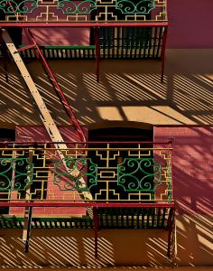 Chinatown Fire Escape