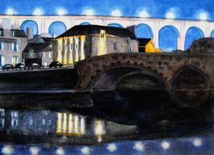 THE BRIDGES AT TWILIGHT