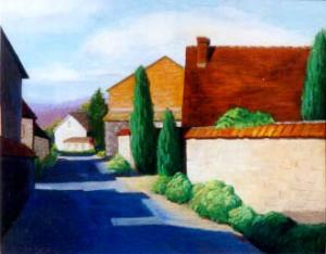 Caroline Klein - Sumi-e, Pastel  and Oil