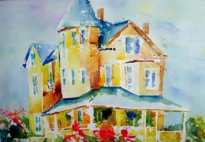 Deborah Redden - Watercolor and Oil