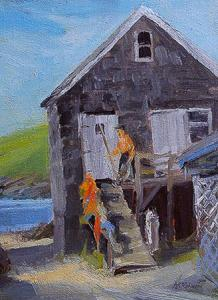 Monhegan Island Fishing Shack
