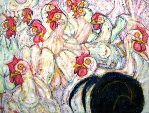 Evelyn Leavens - Watercolor (In Memoriam)