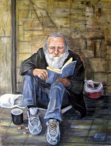 Beggar in Budapest