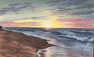LBI Beach Sunrise