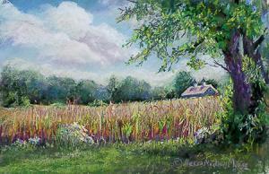 Nessa Neilson Morse - Watercolor and Pastel
