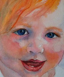 Baby Chloe Closeup