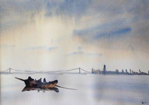 Yan Cao - Watercolor