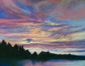 013 barbara grena painting western sky