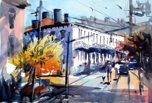 034 deborah redden painting streetwalkers