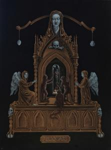 038 bill ross painting reliquary