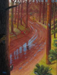 053 sven widen painting morning traffic