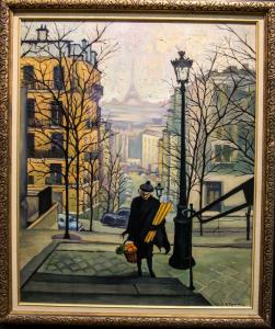 029 miguel figueras painting autumn in paris
