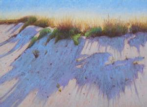 046 caroline klein painting shadows on the sand