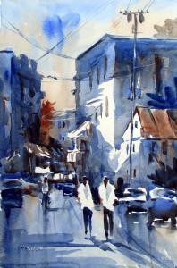 080 deborah redden painting streetscape