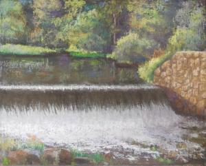 044 caraoline klein painting crowleys falls