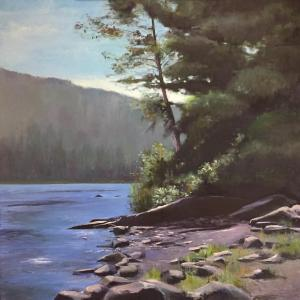 067 Anthony Migliaccio painting river
