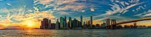 099 peter smejkal blue sky sunset over manhattan