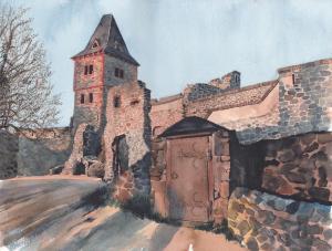 23 stephen gale painting  sun of frankenstein