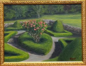 27 bob hart painting  deep cut gardens