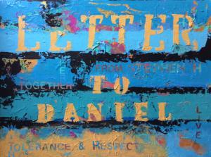 61 edy ottesen painting  letter to daniel