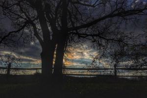 032 geri gray sunset on the navesink