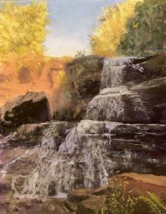 031 mozelle forman painting waterslide