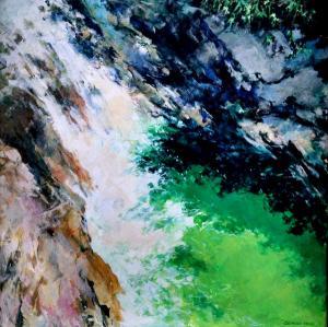 042 george hess painting emerald falls