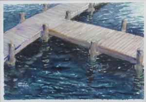 099 sven widen painting dockscape