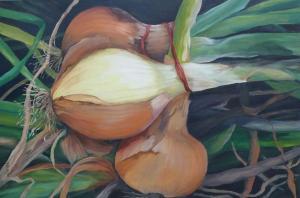 102 patricia zilinski painting big onions two
