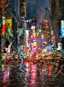 050 igor maloratsky Rain on Times Square New York