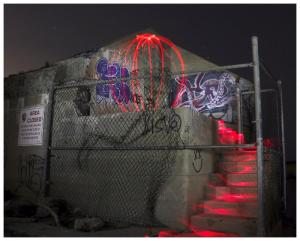 204 tricia rhodes red flow graffiti light painting